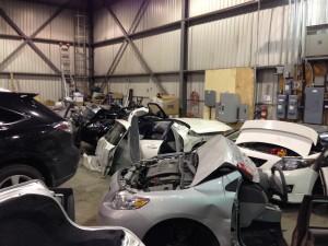 Vehicules en morceaux